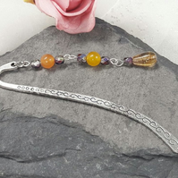 Gemstone and Crystal Bookmark