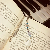 Beaded Mermaid bookmark