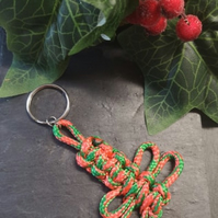 Dragonfly Keyring , stocking filler, cracker filler