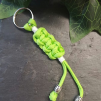 Paracord Keyring , stocking filler, cracker filler