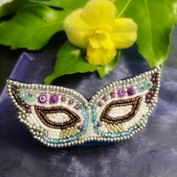 Venetian mask Brooch