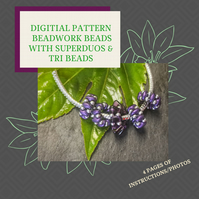 PDF DIGITAL PATTERN - INSTRUCTIONS FOR MAKING BEADWORK BEADS