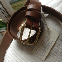 Handcrafted Quality Leather Belt 2mm approx thick