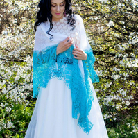 lace wedding shawl