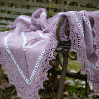 Beautiful  Lace Baby blanket, knitted blanket, baby blanket
