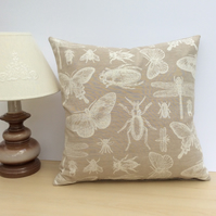 Beetle and Insects Cushion