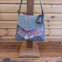 Harris Tweed and Liberty  Handbag
