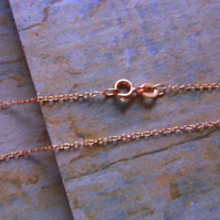 Rose Gold Vermeil Trace Chain