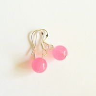 Candy Jade Drop Earrings