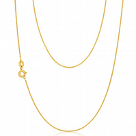 22k Gold Vermeil Trace Chain 18 inches