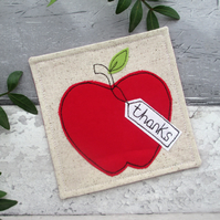 Apple Coaster, Thank You Gift