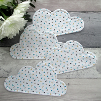 Cloud Coasters, Set Of 4 Coasters