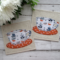 Fabric Coaster Set