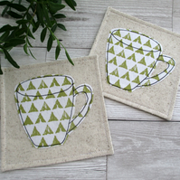 Coaster Set, Coffee Mug Coasters