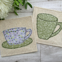 Pretty Tea & Coffee Coasters