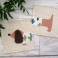 Dachshund In A Jumper Coasters