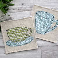 Fabric Coasters, Cup Coasters