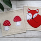 Fox & Toadstool Coasters