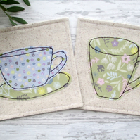 Fabric Coasters, Housewarming Gift