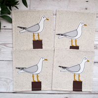Seagull Coaster Set