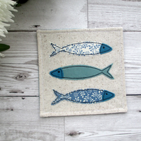 Fish Coaster, Nautical Gift