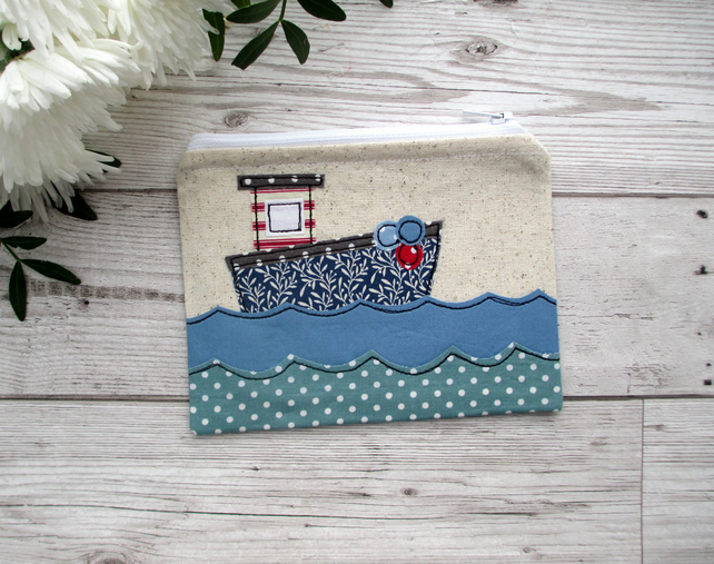 SALE!! Seaside Coin Purse