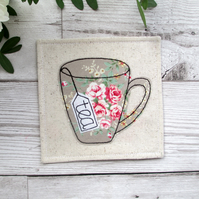 Rustic Tea Coaster