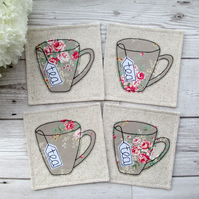 Rustic Coaster Set