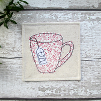 Fabric tea coaster