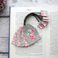 Tea bag bookmark, bookish gift for a tea lover