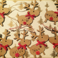Personalised Rudolph decorations