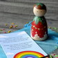 Strawberry Worry Doll