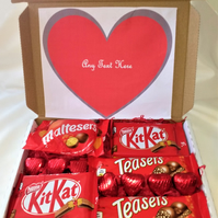 Boxed by Justeve - Letterbox CHOCOLATE  hampers new gift birthday anniv