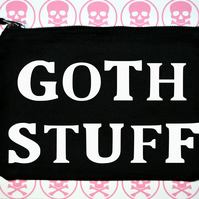 Goth Stuff makeup bag