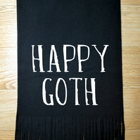 Happy Goth unisex scarf