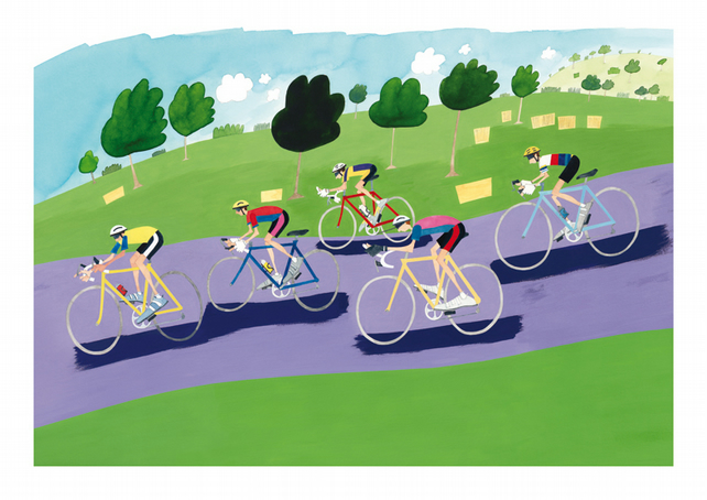 Cycling - This Sporting Life - High quality Fine Art print