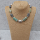 Mixed Gemstone, Pearl, Bali, Hill Tribe and Sterling Silver Necklace
