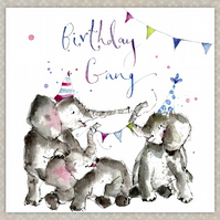 Happy Birthday Card - Handmade