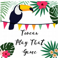 Any Occasion Handmade Card - Toucan