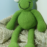 Frog Soft toy. Gift.