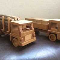 Wooden lorries