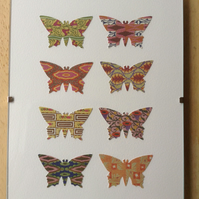 Historical designs butterfly art.