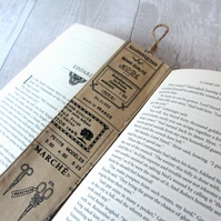 Vintage Sewing Themed Bookmark