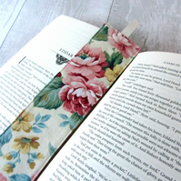 Vintage Floral Themed Bookmark