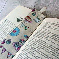 Tea Party Bookmark