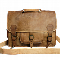Brown leather satchel, messenger bag, backpack, cross body bag, handbag, purse,