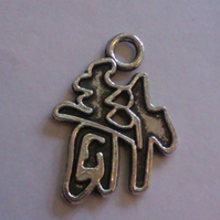 Chinese Symbol Charm Pendant x5 Double Sided