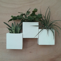 vases,plant pots,vertical garden,living wall,green wall,wall planters Q16 x3