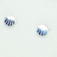 Circle Colour Stud Earrings