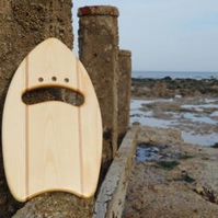 Surfer Surf wooden  Hand plane made in Eastbourne South Coast England